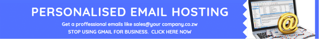 Personalised email hosting