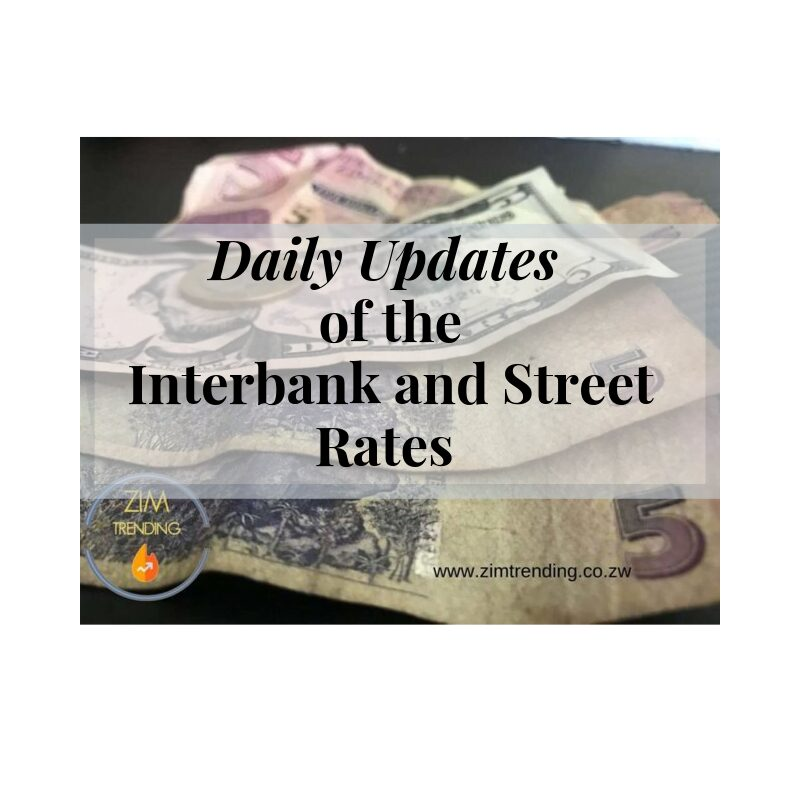 Interbank and Street Rates Updated 28/09/19