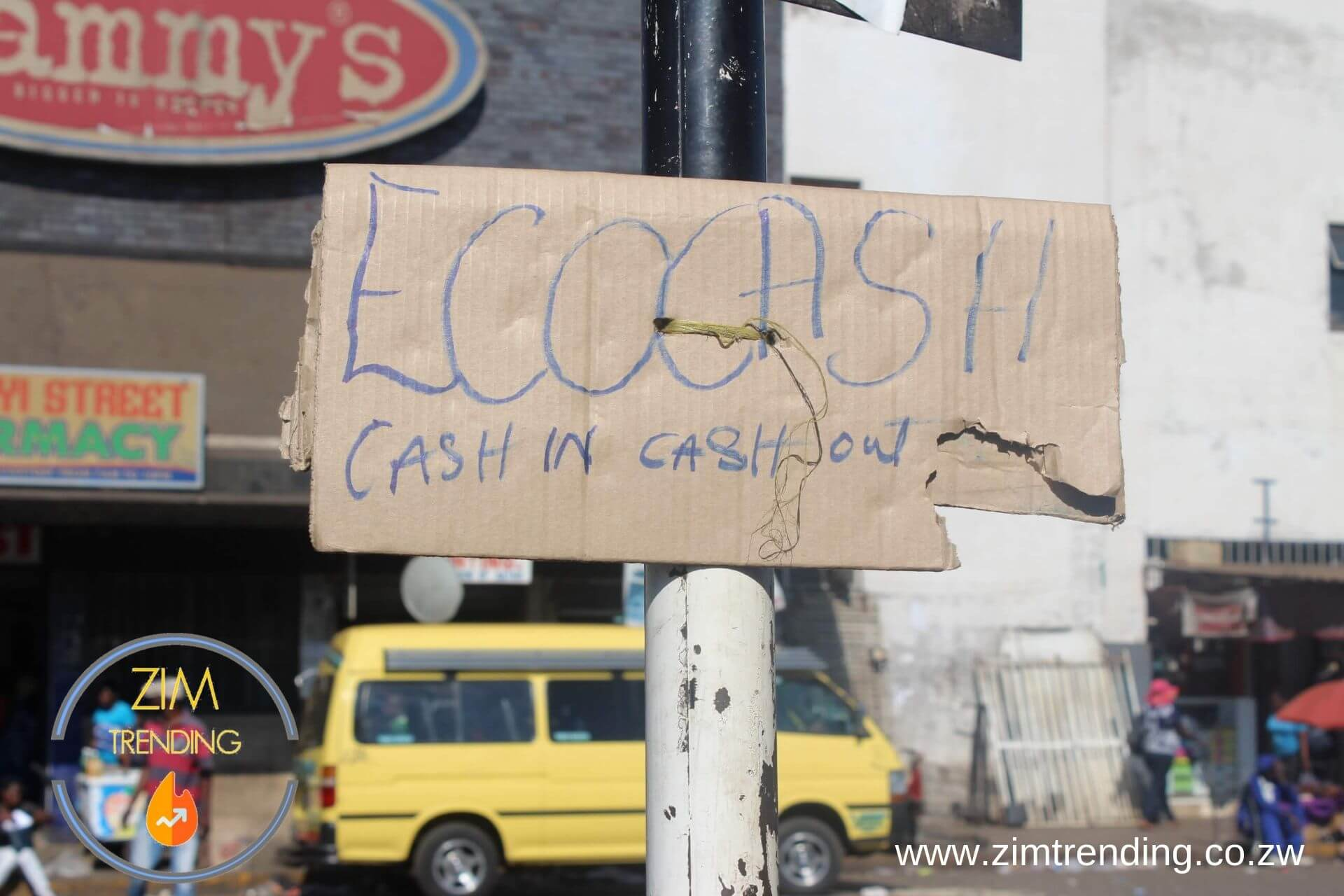 Ecocash agents ripping customers