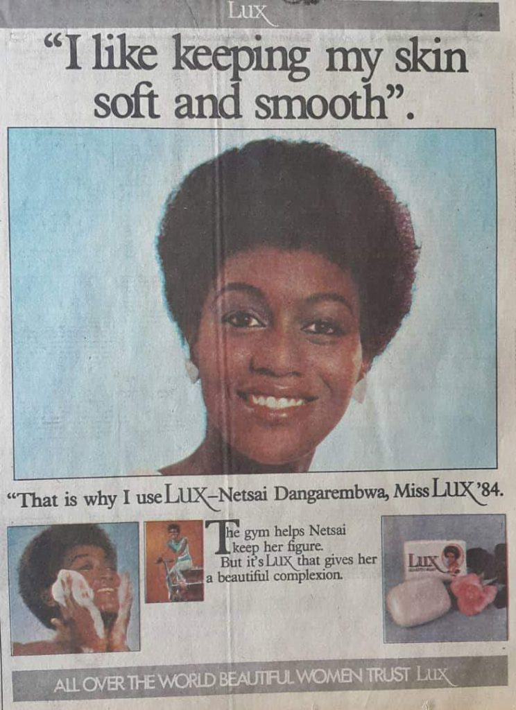 Lux Soap Newspaper Advert