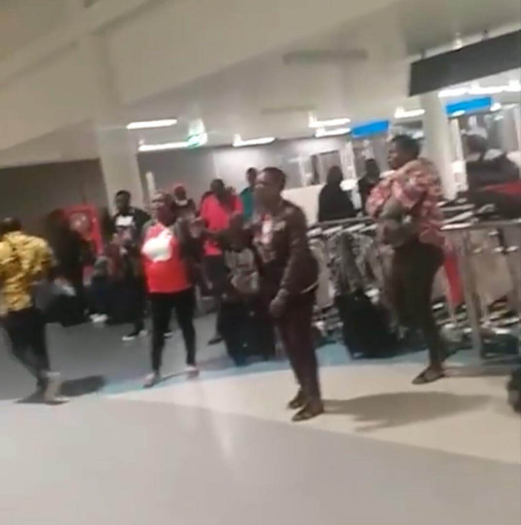 Watch: Zimbabweans Who Had Traveled To Tanzania With Air Zimbabwe Detained on Arrival