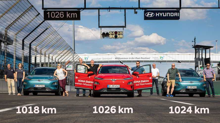 Hyundai Electric Car Goes 1000 km on one charge