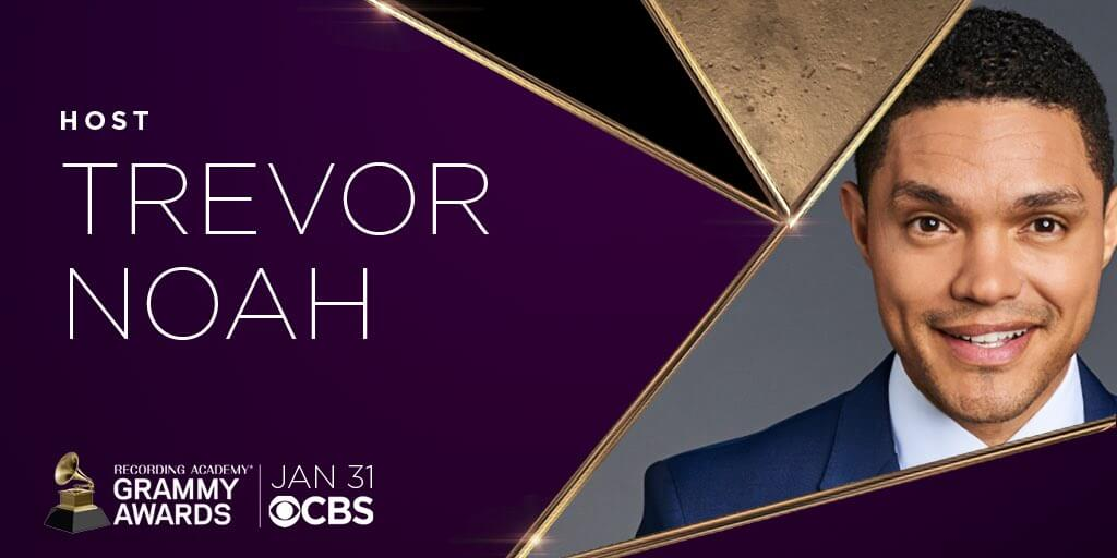 Trevor Noah To Host the grammy's